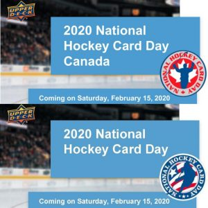 2020 UD National Hockey Card Day