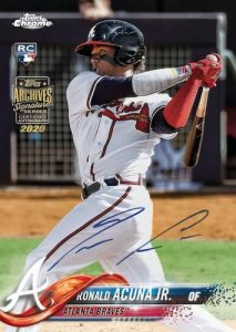 Buyback Auto Ronald Acuna Jr