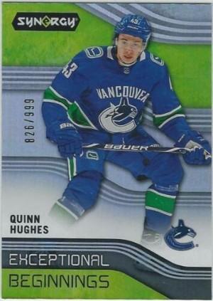 Exceptional Beginnings Quinn Hughes