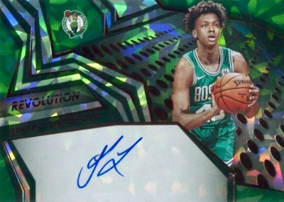 Rookie Auto Chinese New Year Romeo Langford MOCK UP