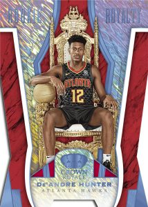 Rookie Royalty De'Andre Hunter MOCK UP