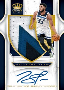 Silhouettes Patch Auto Karl-Anthony Towns MOCK UP
