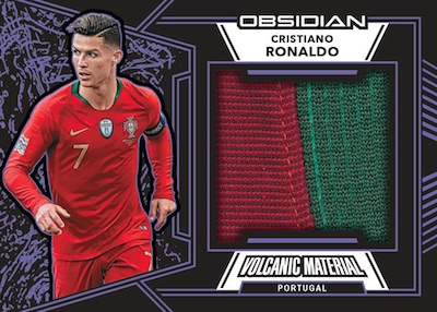 Volcanic Material Relics Cristiano Ronaldo MOCK UP