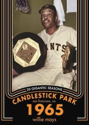20 Gigantic Seasons Willie Mays MOCK UP