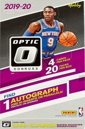 2019-20 Donruss Optic Basketball