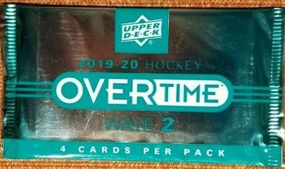 2019-20 UD Overtime Wave 2