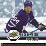 2019-20 Upper Deck Series 2 Hockey