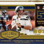 2019 Panini Plates & Patches Football