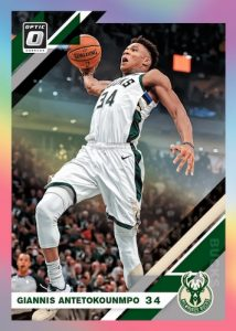 Base Holo Giannis Antetokounmpo MOCK UP
