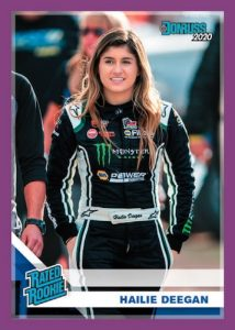 Base Rated Rookie Hailie Deegan MOCK UP