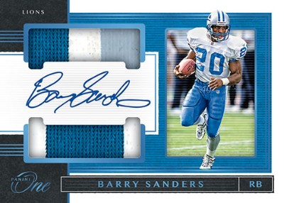 Dual Patch Auto Barry Sanders MOCK UP