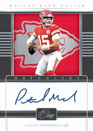 Matchless Patrick Mahomes II MOCK UP
