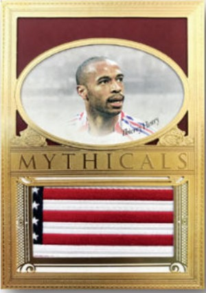Mythicals Relics 24KT Plated Thierry Henry