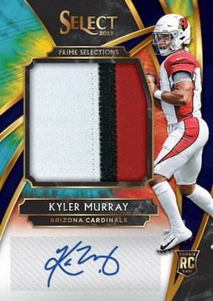 Prime Selections Prizm Signatures Tie-Dye Kyler Murray MOCK UP