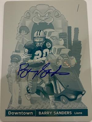 Printing Plates Auto Barry Sanders