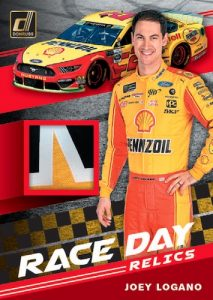Race Day Relics Joey Logano MOCK UP