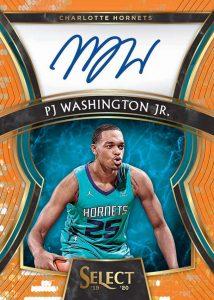 Rookie Signatures PJ Washington Jr MOCK UP