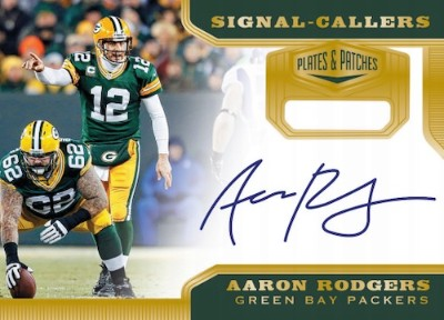 Signal Callers Auto Aaron Rodgers MOCK UP