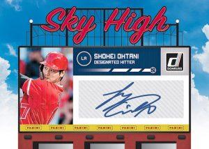 Sky High Signatures Shohei Ohtani MOCK UP