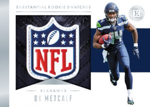 Substantial Rookie Swatches DK Metcalf MOCK UP