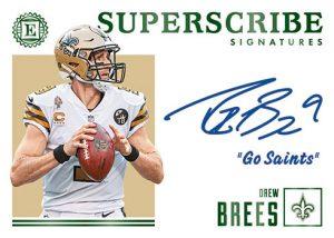 Superscribe Signatures Drew Brees MOCK UP