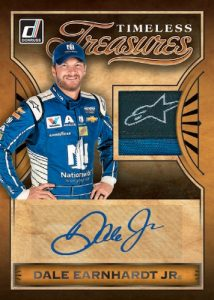 Timeless Treasures Material Signatures Dale Earnhardt Jr MOCK UP