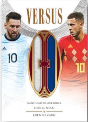 Versus Dual Relics Lionel Messi, Eden Hazard