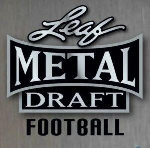2020 Leaf Metal Draft Football