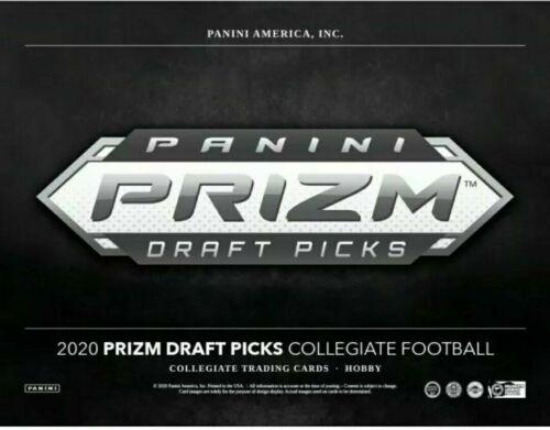 Jalen Elliott 2020 Panini Prizm Draft Picks SILVER Prizm Auto RC Notre Dame
