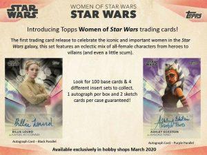 2020 Topps Women of Star Wars