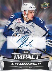AHL Impact Auto Alex Barre-Boulet
