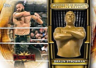 Andre the Giant Battle Royal Commemorative Trophy Braun Strowman MOCK UP