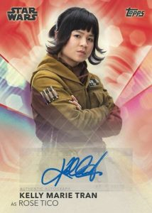 Auto Red Kelly Marie Tran as Rose Tico MOCK UP