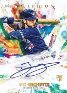 Base Rookies and Emerging Stars Auto Bo Bichette MOCK UP