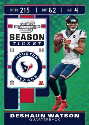 Base Season Ticket Green Pulsar Deshaun Watson MOCK UP