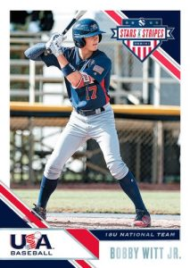 Base USA Baseball Bobby Witt Jr. MOCK UP