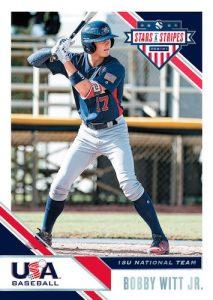 Base USA Baseball Bobby Witt Jr. MOCK UP