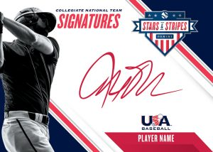 Collegiate National Team Signatures Red Ink MOCK UP
