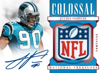 Colossal Signatures NFL Shield Julius Peppers MOCK UP