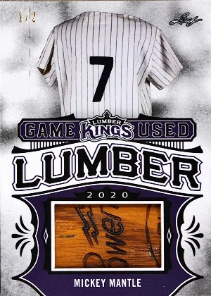 Game Used Lumber Mickey Mantle