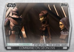Iconic Moments Command on Geonosis MOCK UP
