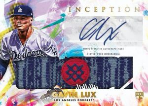 Inception Auto Game Socks Gavin Lux MOCK UP