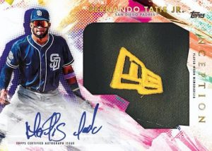 Inception Jumbo Hat Patch Fernando Tatis Jr MOCK UP