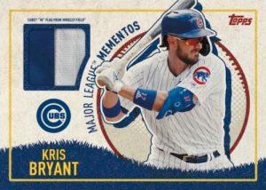Major League Momentos Relics Kris Bryant MOCK UP