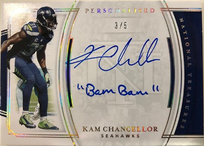 Personalized Treasures Kam Chancellor