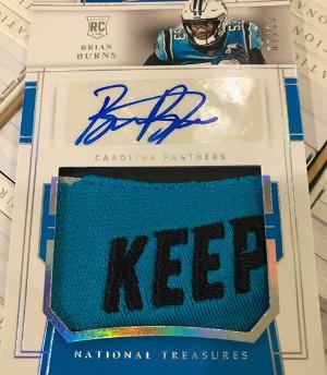 Rookie Materials Signatures Brian Burns