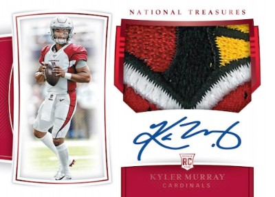 Rookie Patch Auto Kyler Murray MOCK UP