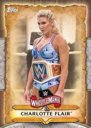 Wrestlemania Roster Charlotte Flair MOCK UP