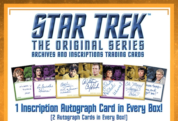 2020 Rittenhouse Star Trek TOS Archives and Inscriptions