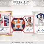2020 Topps Definitive Collection Baseball